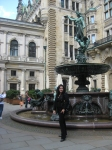 At the Rathaus in Hamburg, Germany