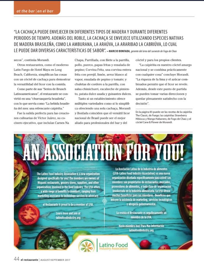 El Restaurante Magazine – Elyse Jessica Glickman